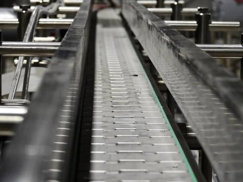 bande transporteuse modulaire pour convoyeur industriel