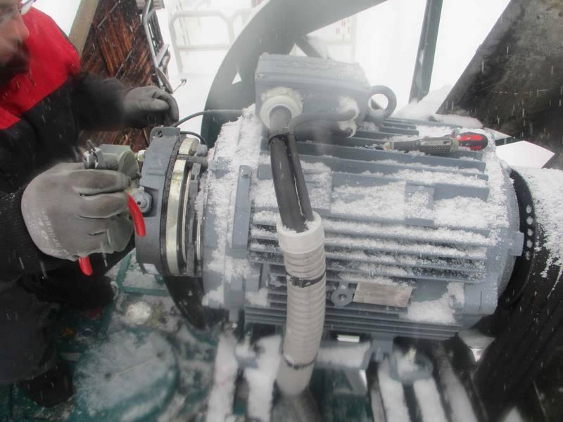entreprise d'installation de capteur sur téléski et machine spéciale