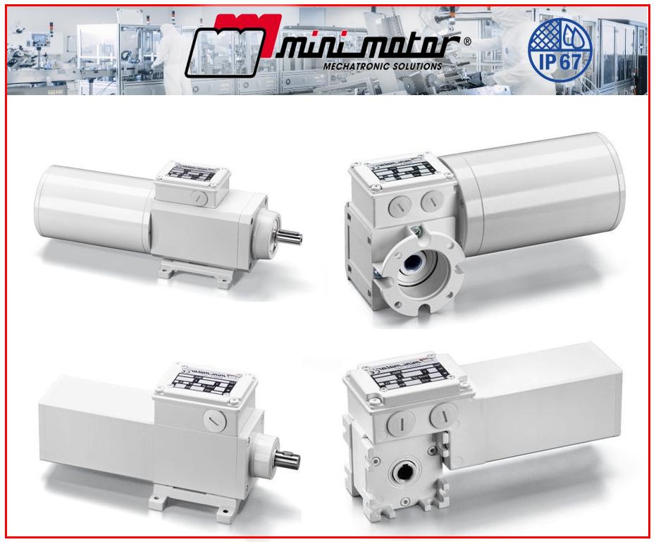 La gamme Agroalimentaire IP67 de Mini Motor