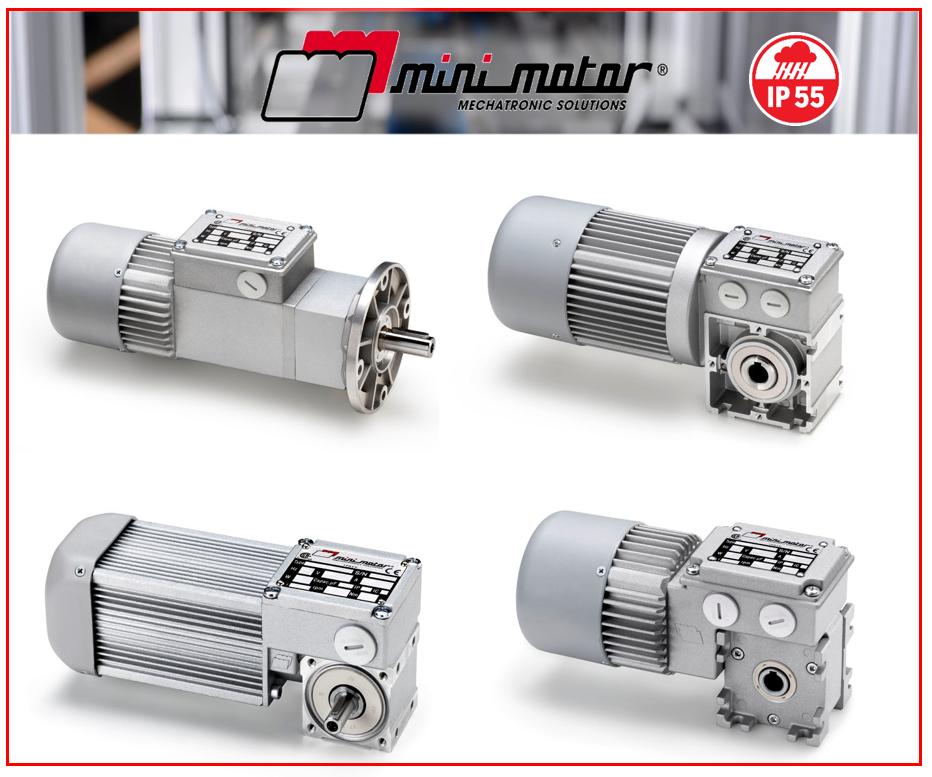 La gamme GEAR  IP55 de Mini Motor