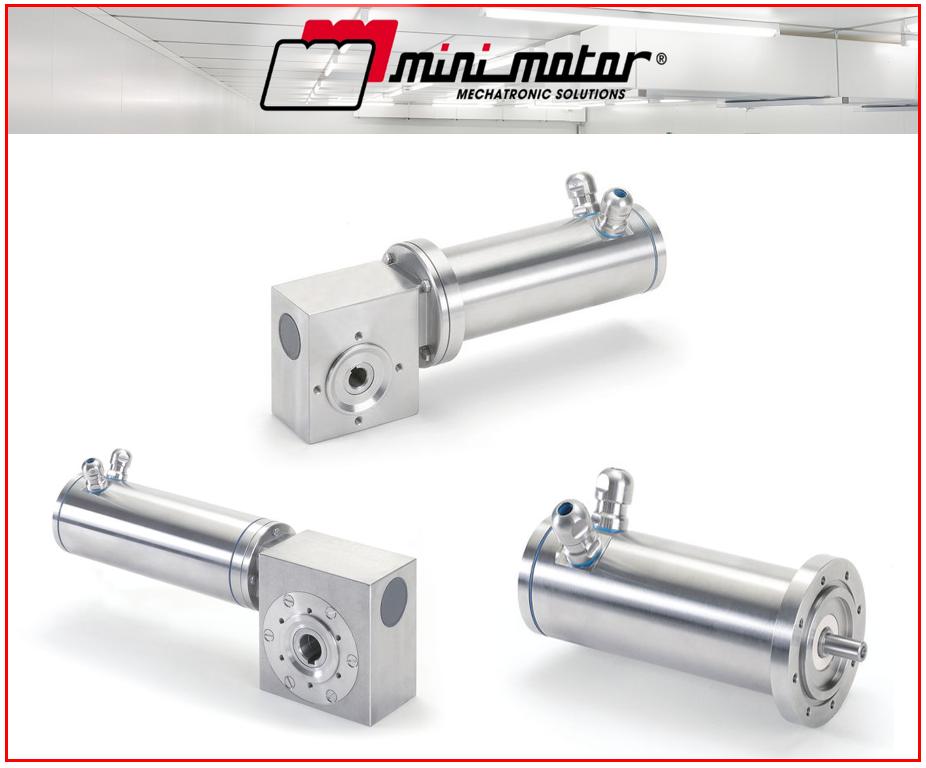 La gamme de motoréducteur Inox Mini Motor