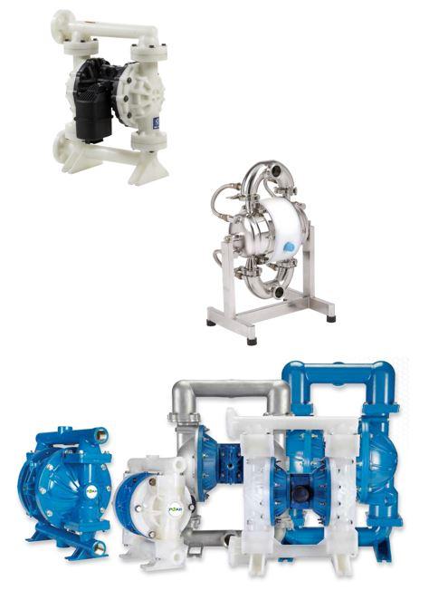 Pompes à membranes standard ou spécifiques selon votre application